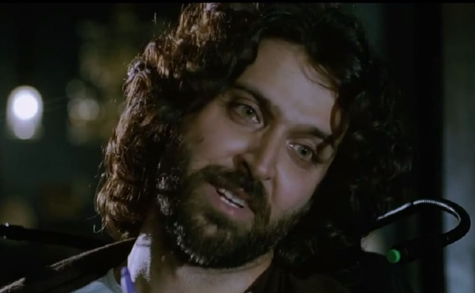 Hrithik Roshan delivered a phenomenal performance in Sanjay Leela Bhansali's 2010 film Guzaarish also starring Aishwarya Rai Bachchan. He is seen in the role of a paralyzed magician-turned-radio jockey in the film. Facebook
