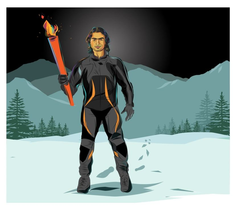 For 24 years, Shiva Keshavan has been a constant torchbearer for India at the Winter Olympics, walking along an often lonely path.
