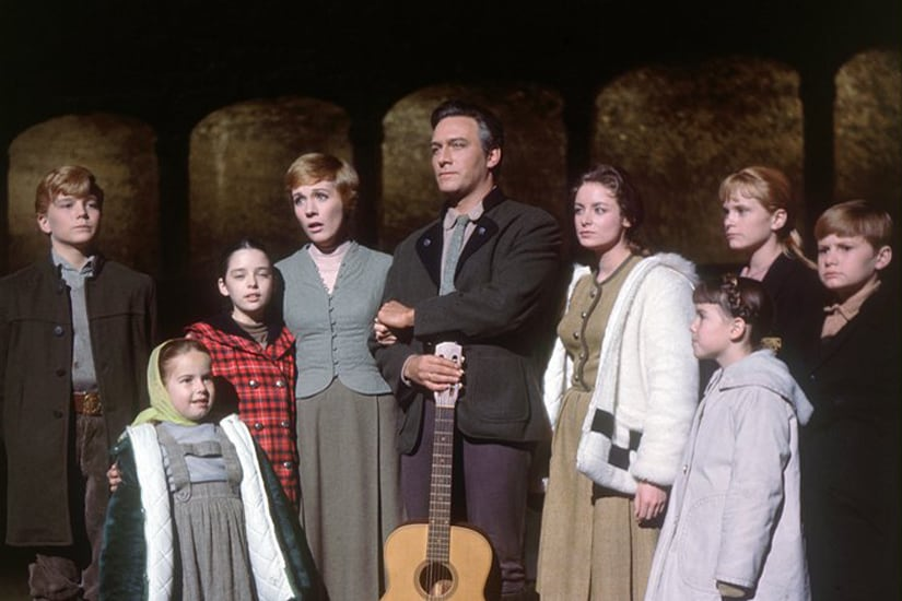 A still from the 1965 film version of The Sound of Music. Twitter @SoundOfMusic