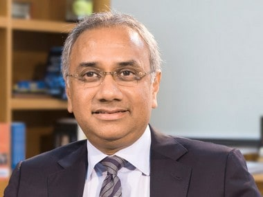 Salil Parekh, CEO and MD, Infosys. Image courtesy - company.