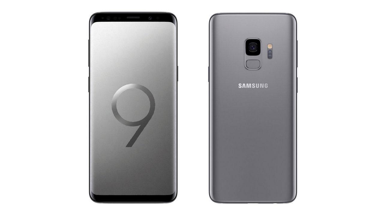 The Samsung Galaxy S9. Image: Evan Blass/Twitter