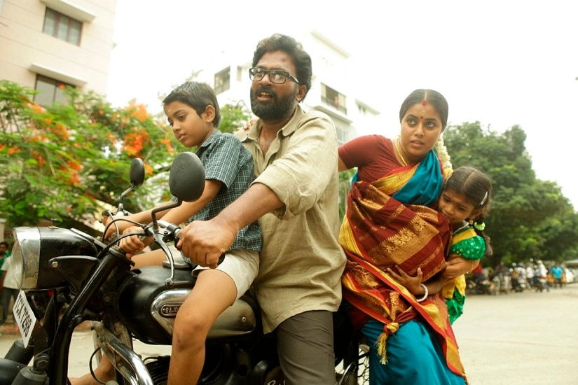 Youtube still from Savarakathi.