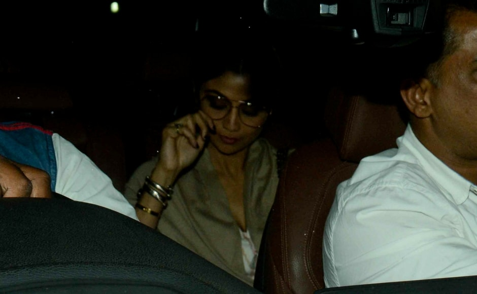 Shilpa Shetty arrives at Anil Kapoor's residence/Sachin Gokhale/Firstpost