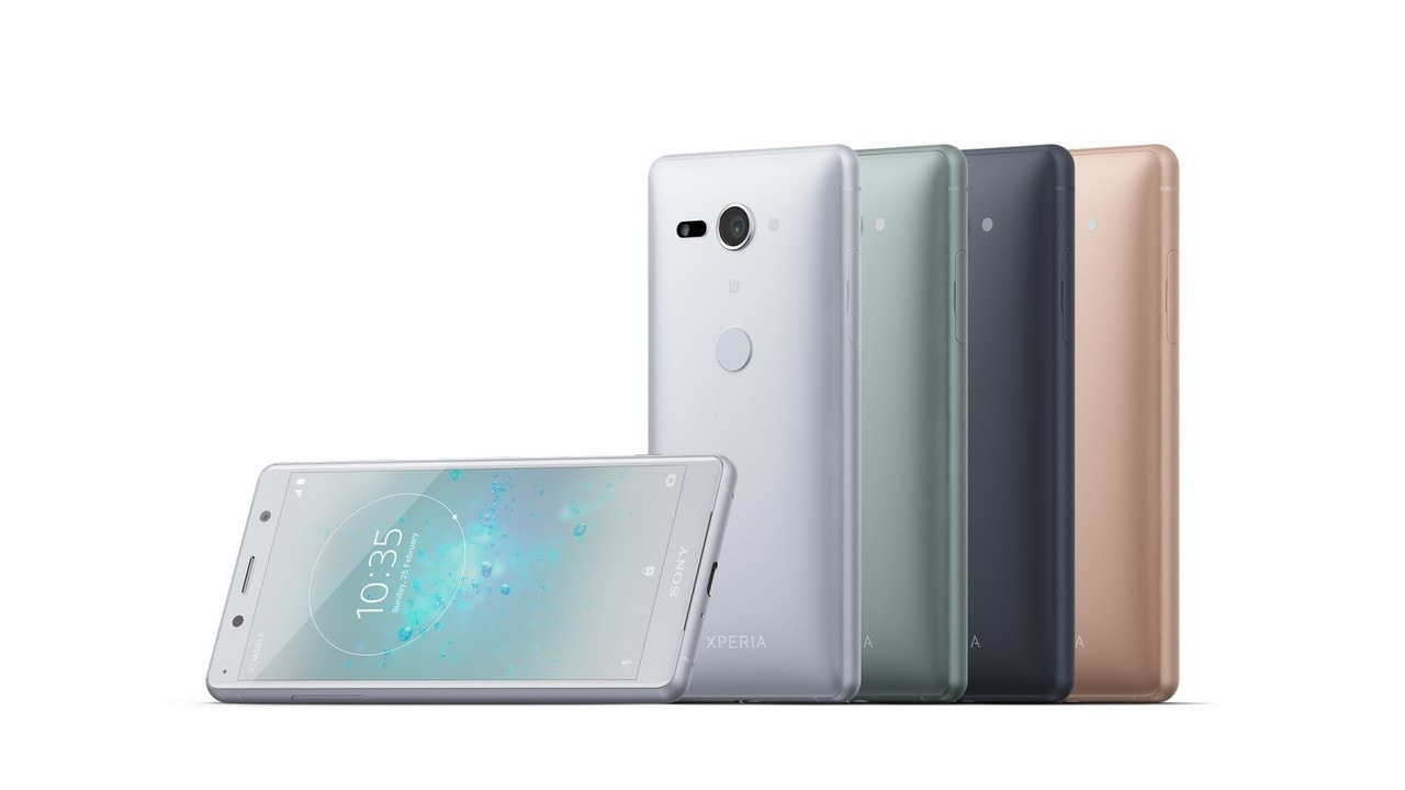 The Sony Xperia XZ2 Compact. Sony Mobile