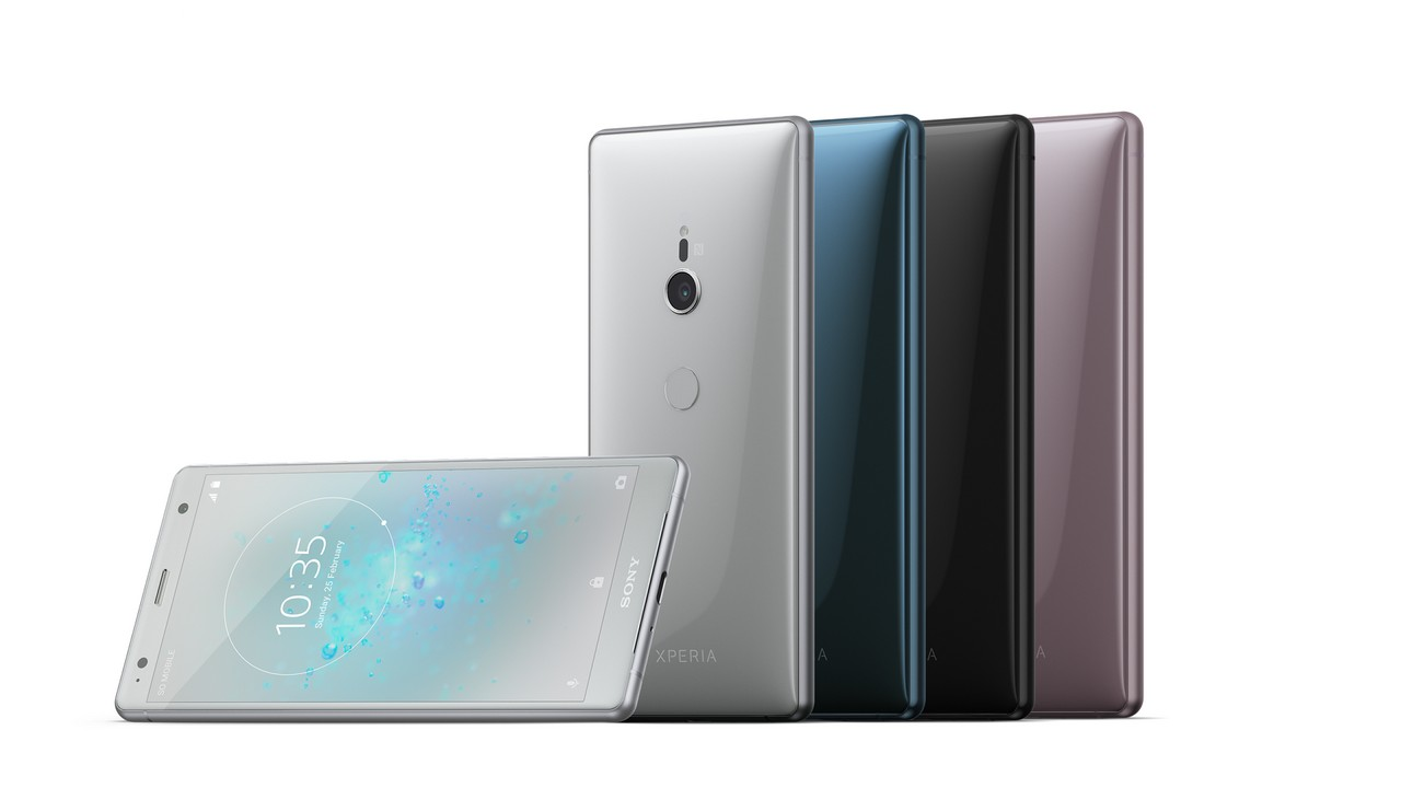 The Sony Xperia XZ2. Sony Mobile