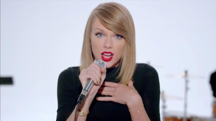 Taylor Swift in 'Shake It Off' music video