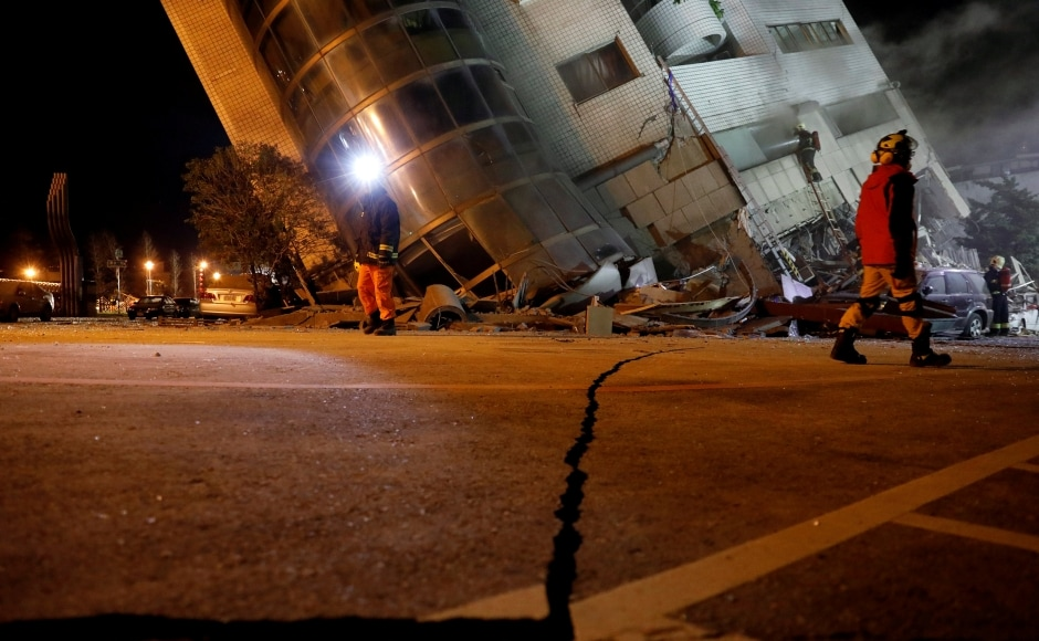 The quake hit just before midnight (1550 GMT) around 21 kilometres northeast of Hualien, according to the United States Geological Survey. It followed almost 100 smaller tremors to have hit the area in the last three days and comes exactly two years since a quake of the same magnitude struck the southern Taiwanese city of Tainan, killing more than 100 people. Reuters