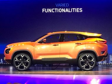 Tata Motors H5X SUV to be launched in two variants in 2019 followed by the 45X hatchback