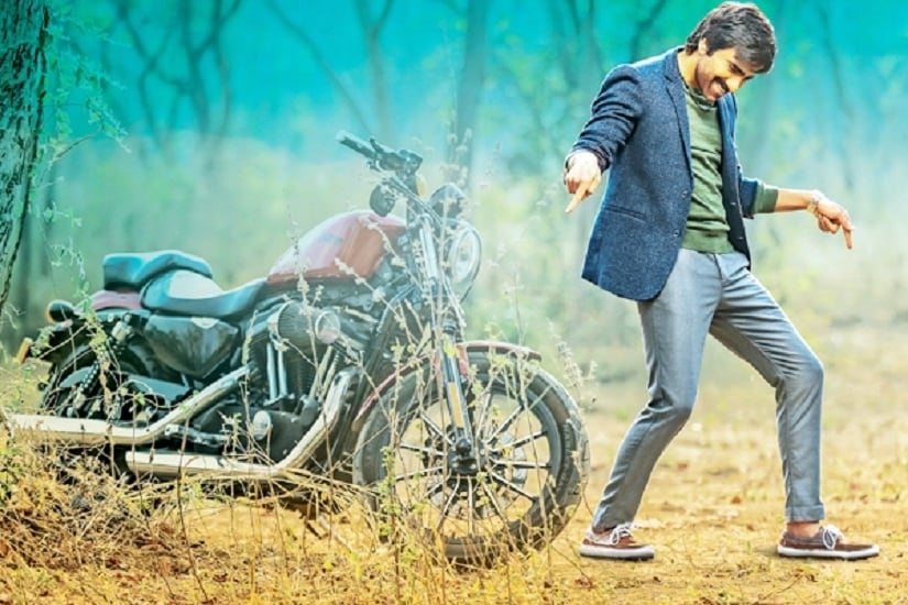 Ravi Teja in a promotional still of Touch Chesi Choodu. Twitter