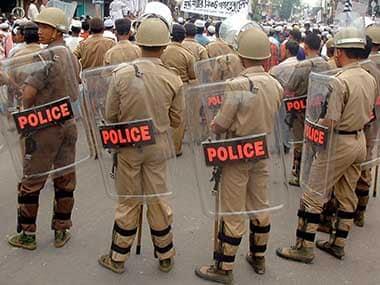 Tripura police. Representational image. Reuters