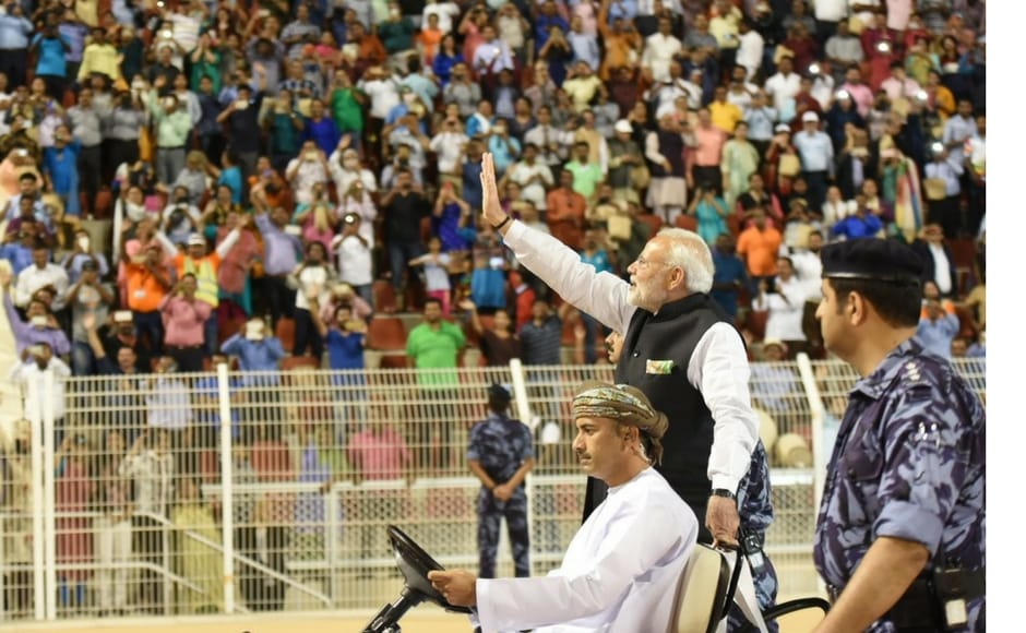 Modi also said the Indian diaspora has played an essential role in strengthening these ties. India and Oman have thriving links rooted in centuries old people-to-people exchanges. Twitter@narendramodi