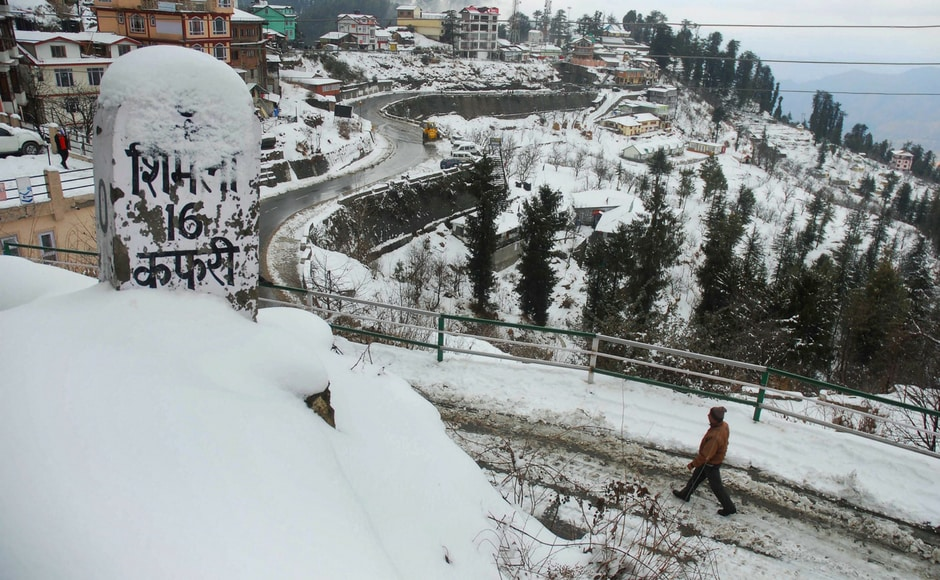 Popular tourist destinations Shimla and Manali continued to experience more snowfall on the second day on Tuesday, while lower hills across Himachal Pradesh were lashed by rain, bringing the temperature down by several notches. Tourist spots near Shimla like Kufri, Fagu and Narkanda also experienced snowfall, making the hill stations even more picturesque. PTI