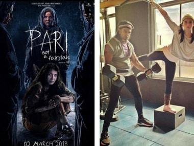Chilling new poster of Pari released; Ranveer Singh, Alia Bhatt's workout session: Social Media Stalkers' Guide