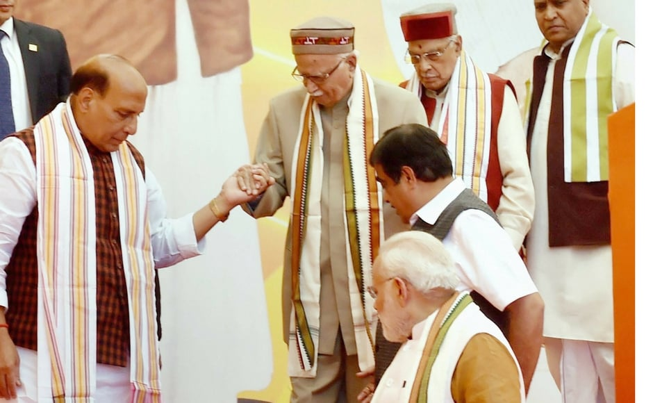 The party and its crores of workers will work together to realise Modi's dream of a new India, Shah said while paying tributes to late party leaders and workers. PTI