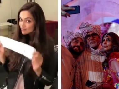 Bollywood stars take the #PadmanChallenge; Abhishek Bachchan turns 42: Social Media Stalkers' Guide