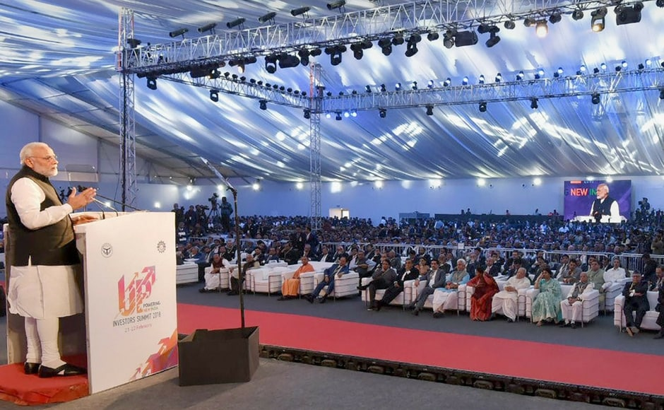 Speaking at the event, PM Narendra Modi said that the government will establish a defence industrial production corridor in UP. PTI