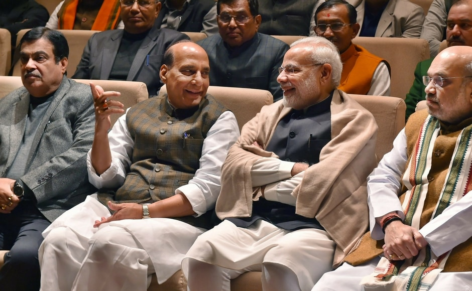 The prime minister also asked members to hold mock parliaments in various places to discuss the budget and praised Finance Minister Arun Jaitley's response in the Lok Sabha during a discussion on it. PTI