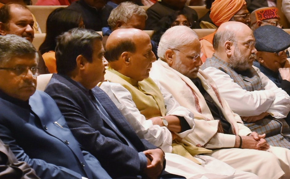 Prime Minister Narendra Modi addressed BJP MPs at a parliamentary party meet on Thursday and urged them to go to the masses to highlight the government's pro-people measures, like the Union Budget that was announced on Thursday. PTI
