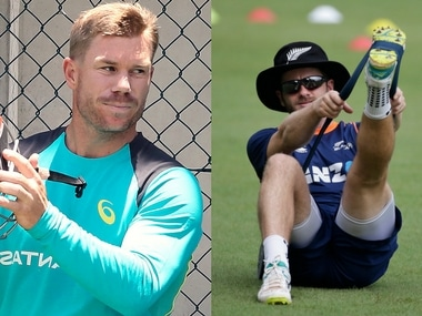 Australia captain David Warner and New Zealand captain Kane Williamson. Agencies