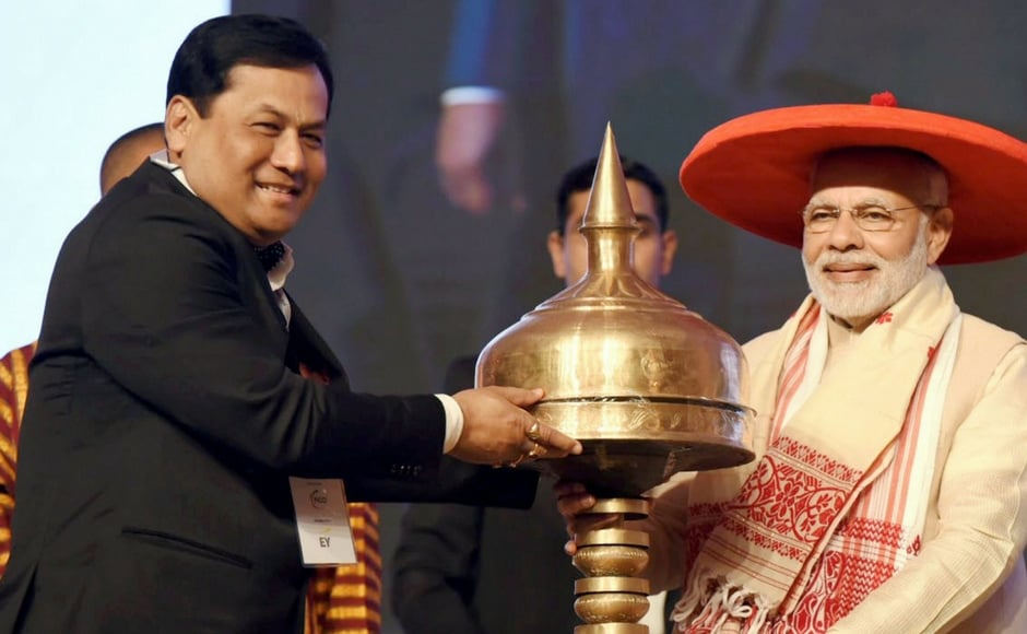 Narendra Modi in Assam: PM inaugurates Global Investors' Summit, says North East at heart of 'Act East' policy