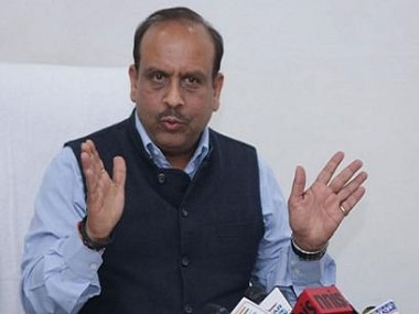 File image of BJP leader Vijender Gupta. News18