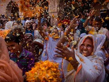 Holi celebration 2018: Vrindavan widows to present 11 earthen pots of gulaal, sweets to Narendra Modi bhaiya