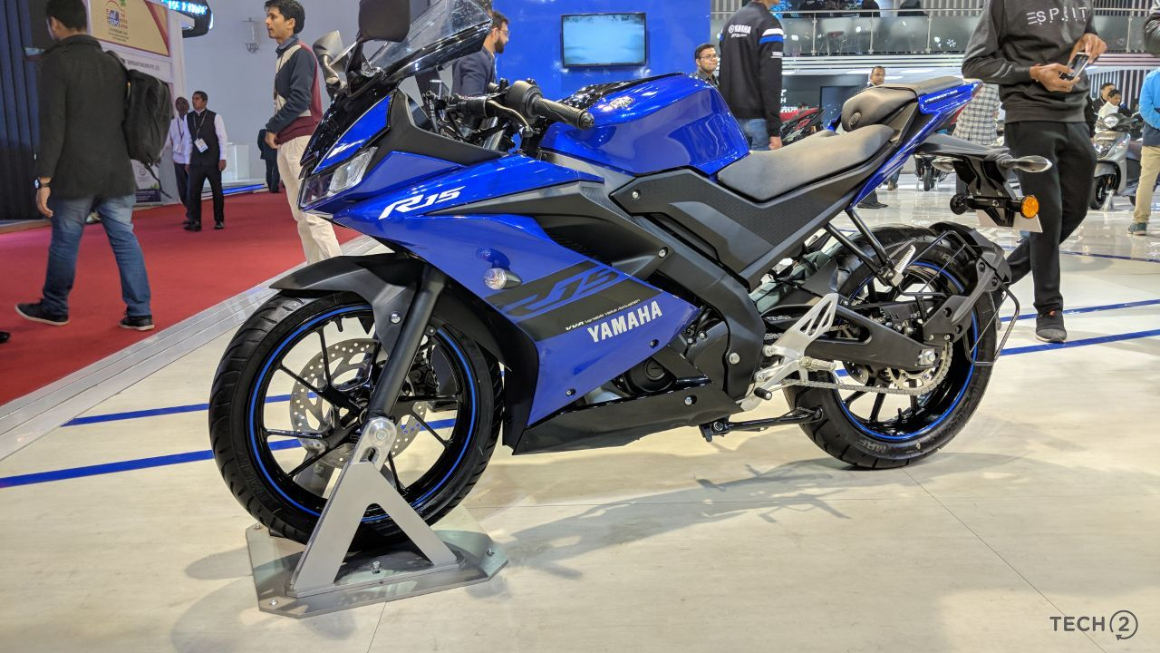Yamaha has updated the design to make the new Yamaha R15 V3.0 more aerodynamic.