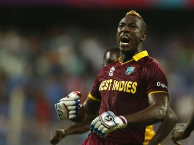 File photo of Andre Russell. AFP