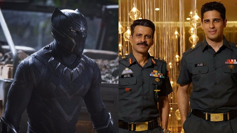 Black Panther-Aiyaary. Images from Twitter.