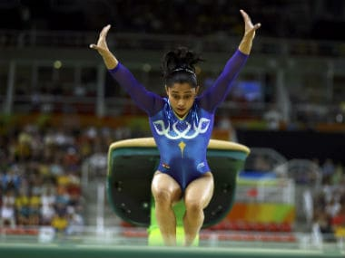 File image of Dipa Karmakar. Reuters