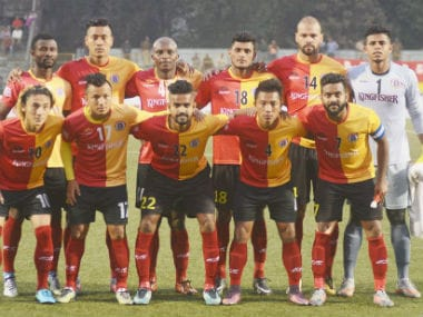File photo of the East Bengal team. Twitter/@eastbengalfc