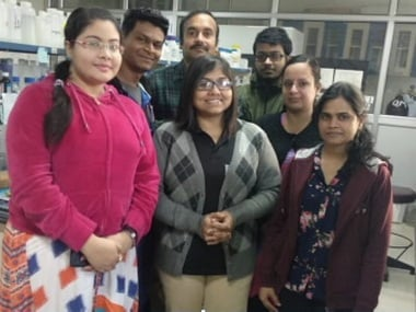Research team at Department of Biotechnology, IIT Roorkee. ISW