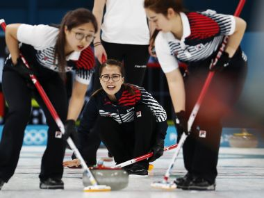 Winter Olympics 2018: South Koreas Garlic Girls take nation by storm after impressing at curling event