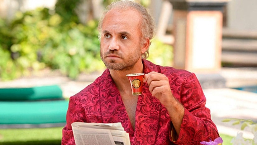 Edgar Ramirez as Versace in The Assassination of Giann Versace: American Crime Story. © 2018 Fox and its related entities. All rights reserved