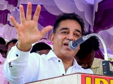 File image of Kamal Haasan. PTI