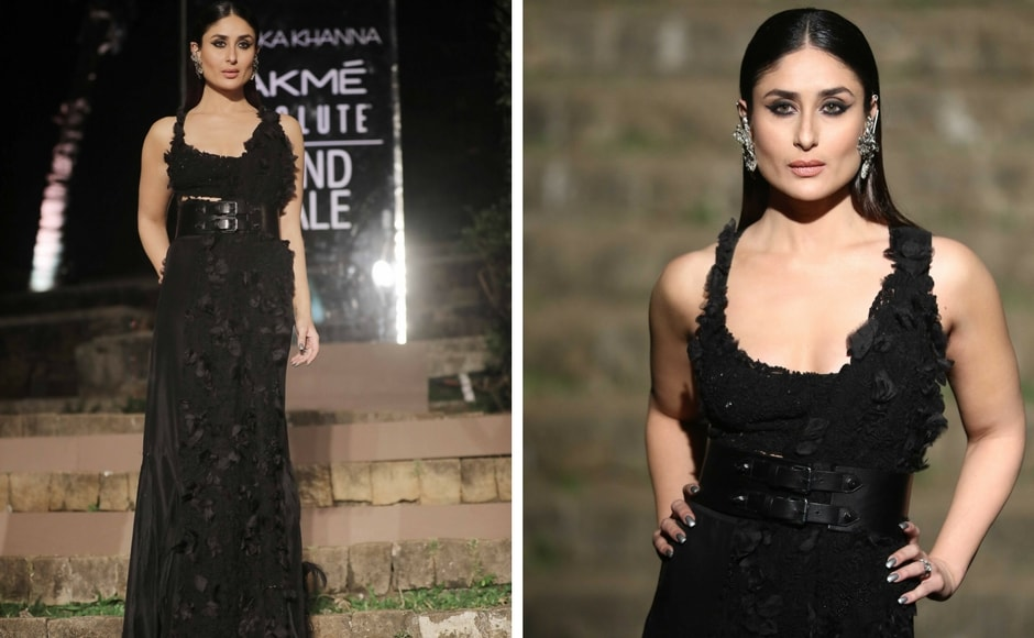 Bringing Anamika's collection alive, Kareena Kapoor Khan, the face of Lakmé Absolute, was seen in an all new avatar as she donned experimental street style like never before.