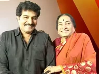 Ravi Kanakala with Lakshmi Devi. Image via YouTube