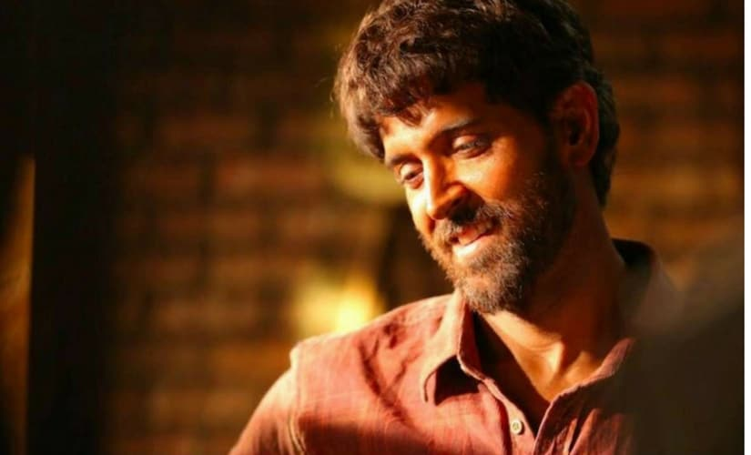 Hrithik Roshan in Super 30/Image from Twitter.