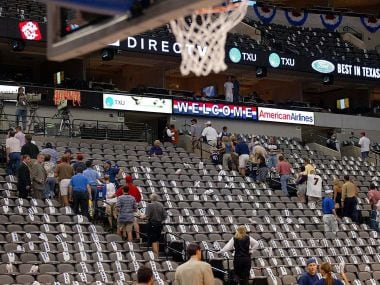 File image of Dallas Mavericks' American Airlines Center. AFP