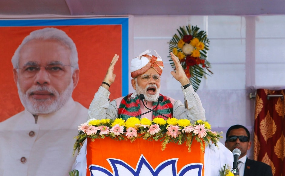 Saying his government was working to develop North East India, Modi said on Thursday that Tripura remained backward due to 25 years of Left