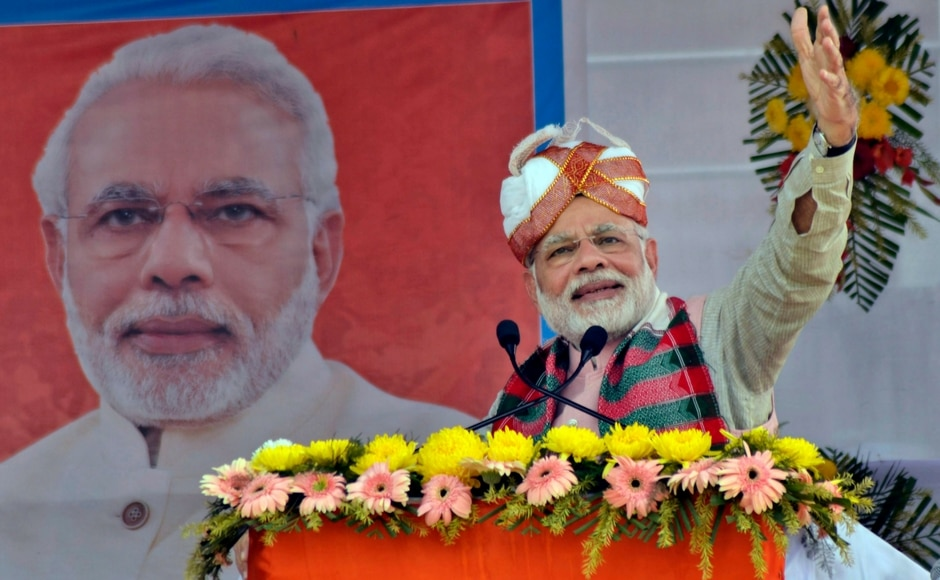 Narendra Modi in Tripura: PM raises the pitch against Left, says BJP working to develop North East