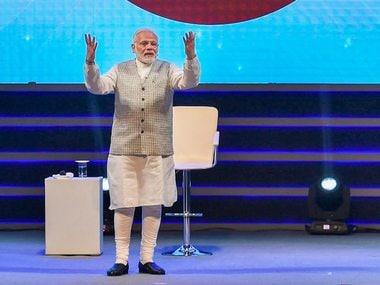 PM Narendra Modi speaks during an interactive session-'Pariksha Par Charcha. PTI