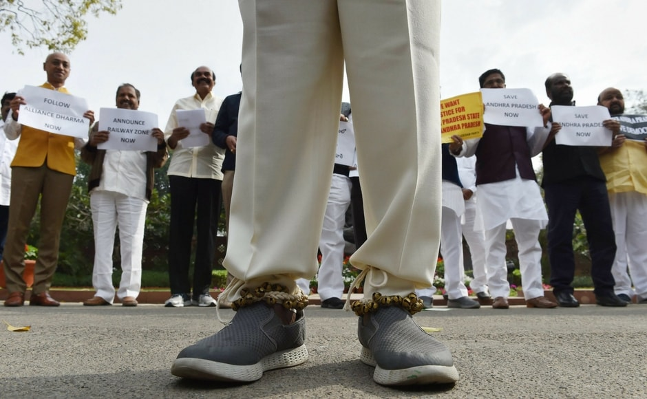 Budget Session 2018: Opposition boycotts RS post-lunch; TDP, YSRC protest in LS for Andhra Pradesh