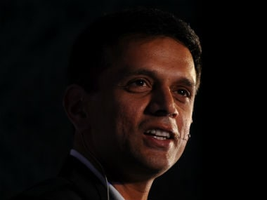 File photo of India U-19 coach Rahul Dravid. AFP