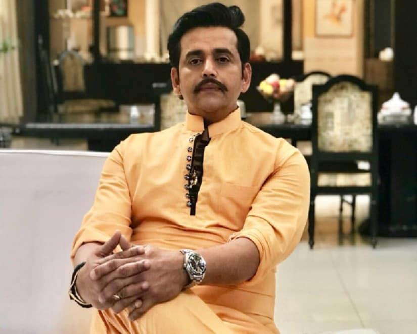 Ravi Kishan. Image from Twitter/@ravikishann