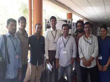 Citizen as with Ananda Hota) at ASI meeting in Hyderabad.