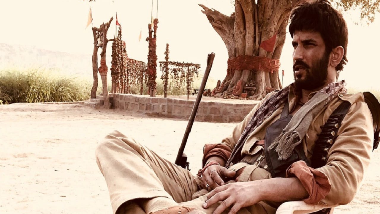 Sushant Singh Rajput in a still from Sonchiriya. Twitter@ItsSSR