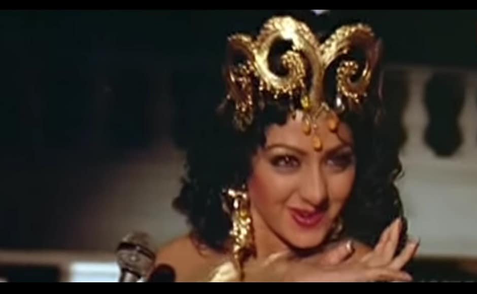 Sridevi's 'Hawa Hawai' act in Anil Kapoor-starrer Mr India took the nation by storm. YouTube