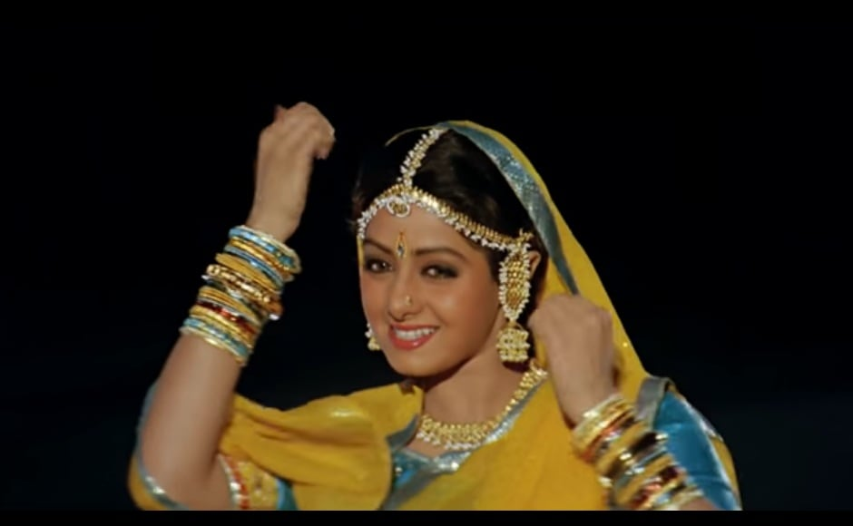 Her charm and charisma shone through in Lamhe, one her many blockbusters with Anil Kapoor. Youtube