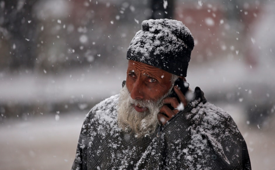 After over a two-month-long dry spell, the Kashmir Valley received its first major snowfall this season on Monday. The snowfall has, to a large extent, addressed the concerns of the residents in Srinagar, who were worried over the extended dry spell in winter. Reuters